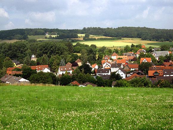 Blick auf Ernsthofen